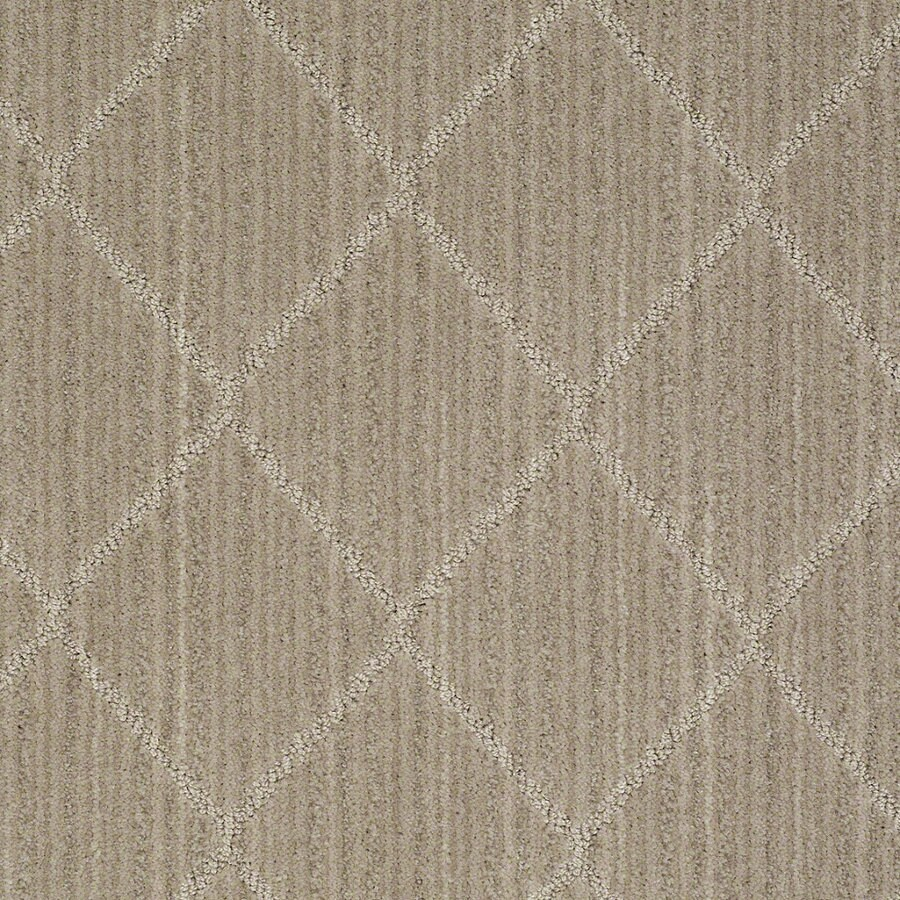 STAINMASTER Active Family Cross Creek Miner's Dust Berber/Loop Interior Carpet
