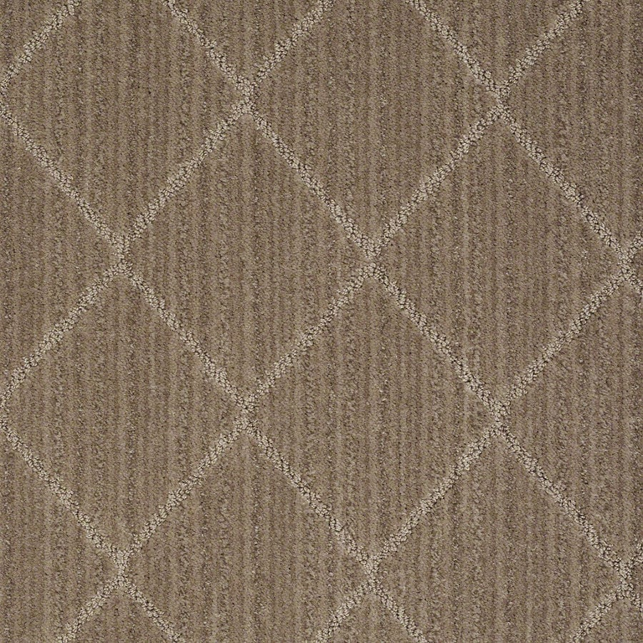 STAINMASTER Active Family Cross Creek Mocha Blast Berber Indoor Carpet