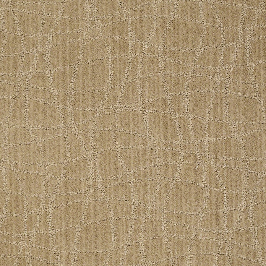 STAINMASTER Active Family Holly Springs Crushed Cashew Berber Indoor Carpet