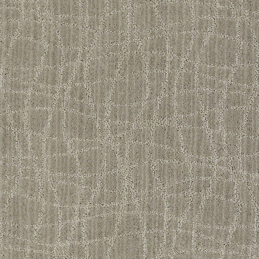 STAINMASTER Active Family Holly Springs 12-ft W Pelican Berber/Loop Interior Carpet