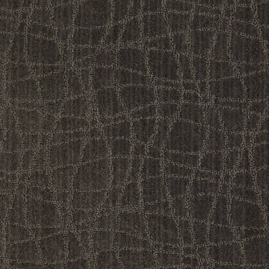 STAINMASTER Active Family Holly Springs 12-ft W Lava Berber/Loop Interior Carpet