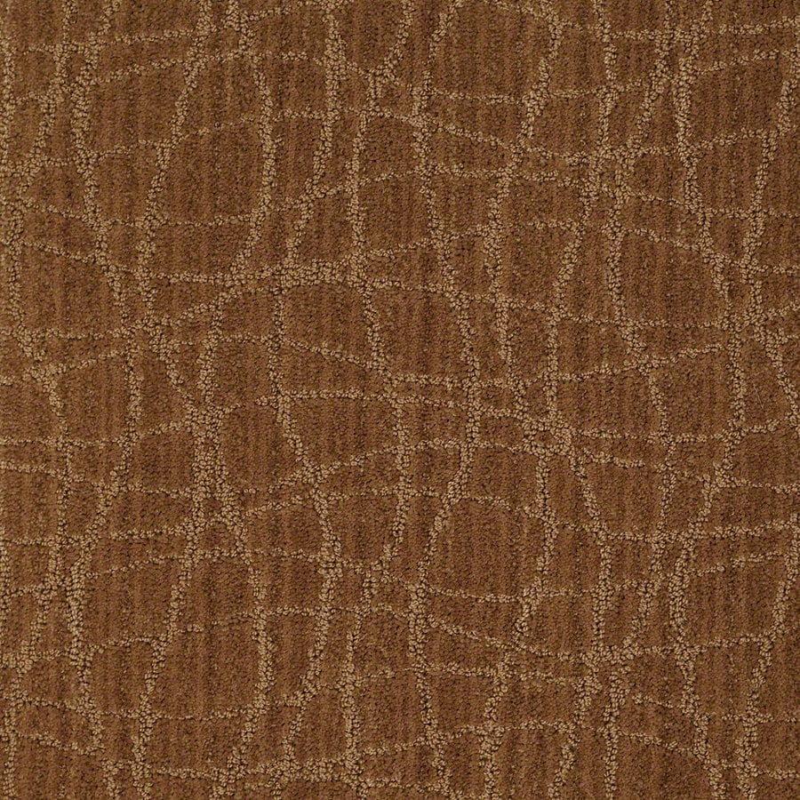 STAINMASTER Active Family Holly Springs Melted Copper Berber Indoor Carpet