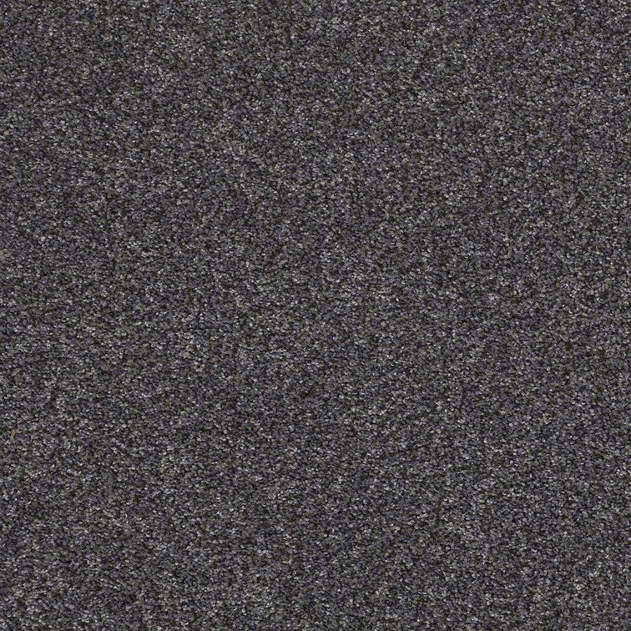 STAINMASTER Essentials Stone Mountain I 12-ft W Vintage Lapis Textured Interior Carpet