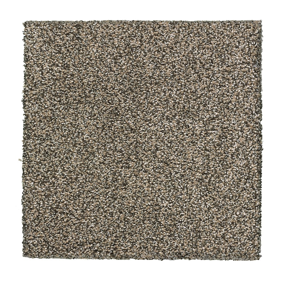 STAINMASTER Essentials Stone Peak I 12-ft W x Cut-to-Length Quartz Textured Interior Carpet
