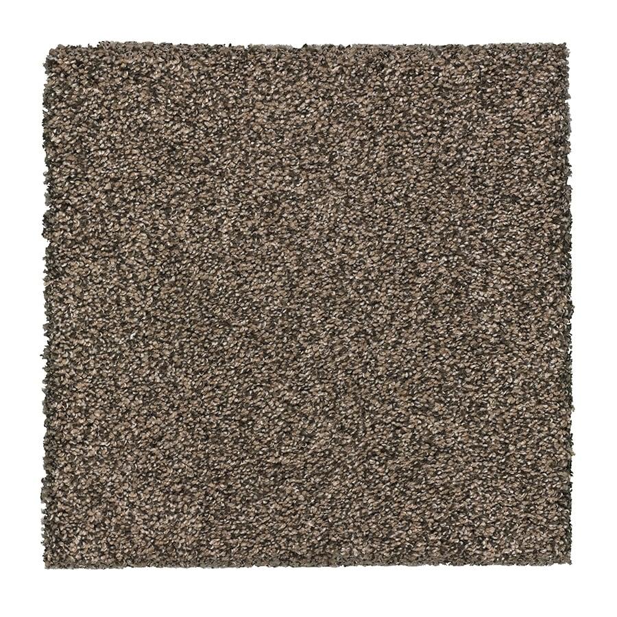 STAINMASTER Essentials Stone Peak I 12-ft W x Cut-to-Length Pebble Textured Interior Carpet