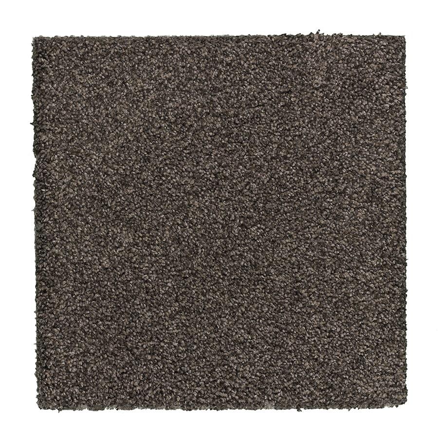 STAINMASTER Essentials Stone Peak I 12-ft W Earthy Emerald Textured Interior Carpet