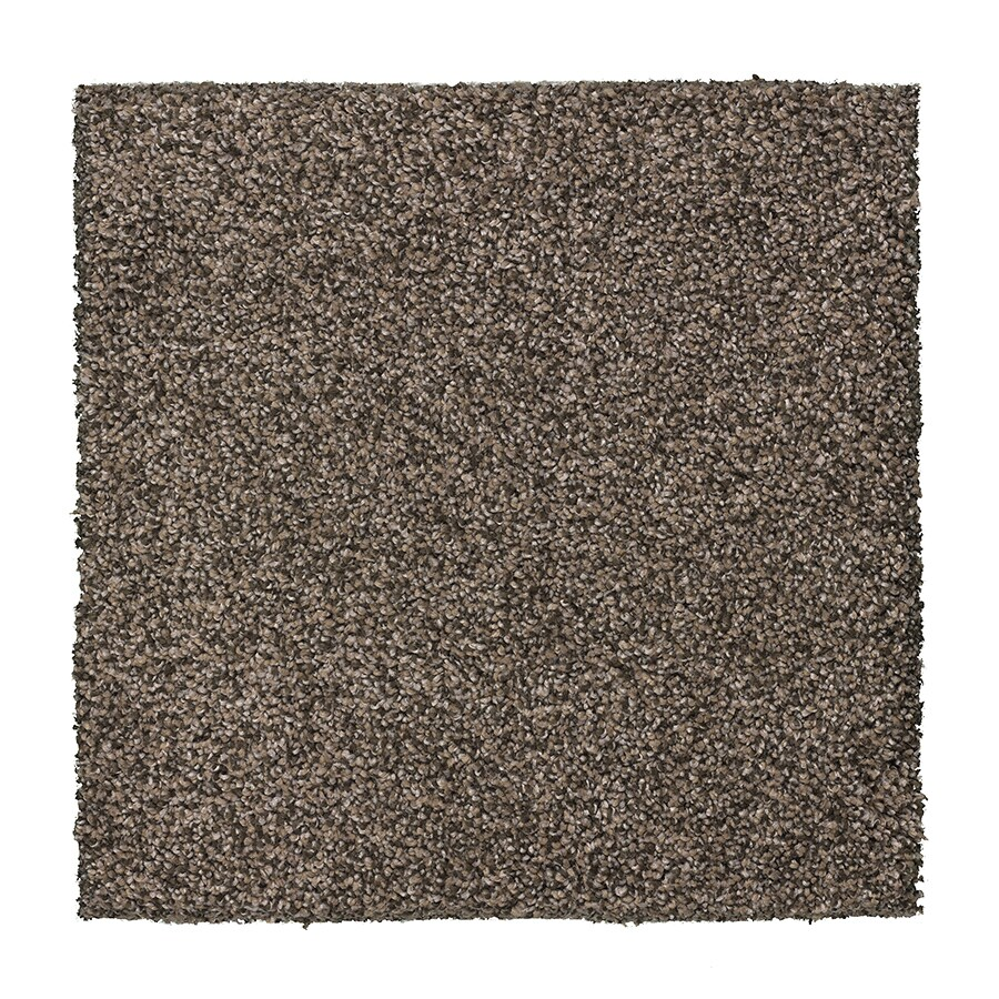 STAINMASTER Essentials Stone Peak I 12-ft W x Cut-to-Length Feldspar Textured Interior Carpet