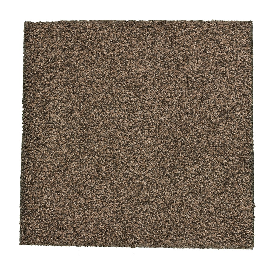 STAINMASTER Essentials Stone Peak III 12-ft W x Cut-to-Length Mother Lode Textured Interior Carpet