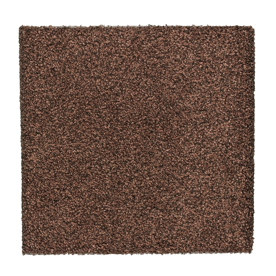 STAINMASTER Essentials Stone Peak III Georgia Clay Textured Interior Carpet