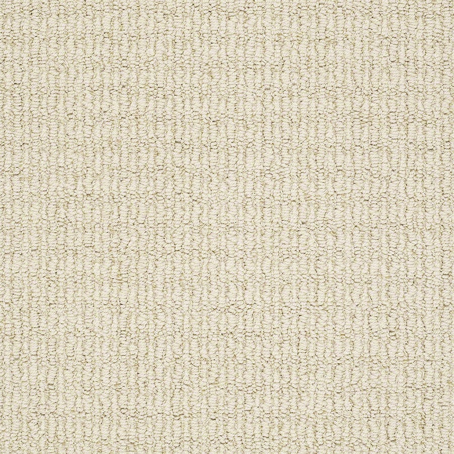 STAINMASTER Trusoft Uneqivocal Buttercup Berber/Loop Interior Carpet