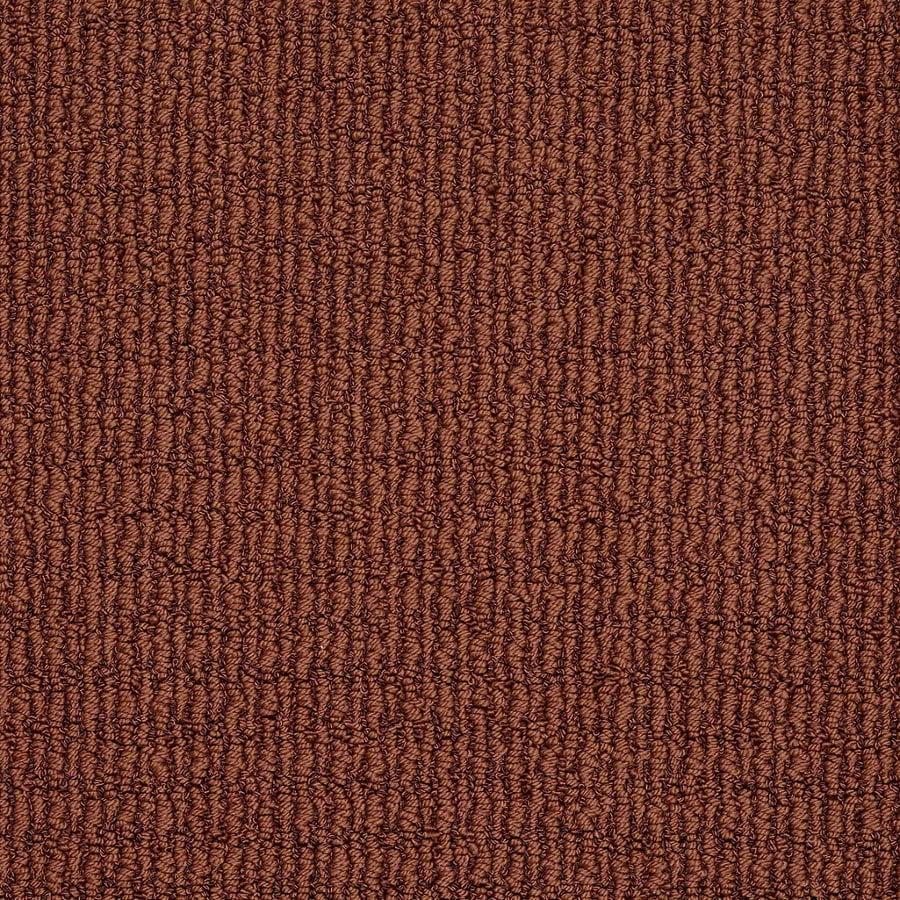 STAINMASTER TruSoft Uneqivocal Crimson Berber Indoor Carpet