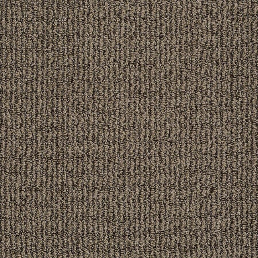 STAINMASTER TruSoft Uneqivocal Lasso Brown Berber Indoor Carpet