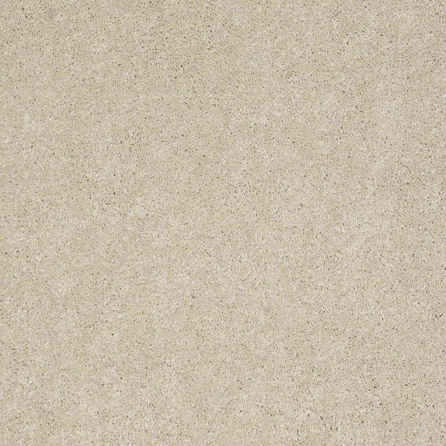 STAINMASTER Active Family Supreme Delight 1 12-ft W x Cut-to-Length Cheesecake Textured Interior Carpet