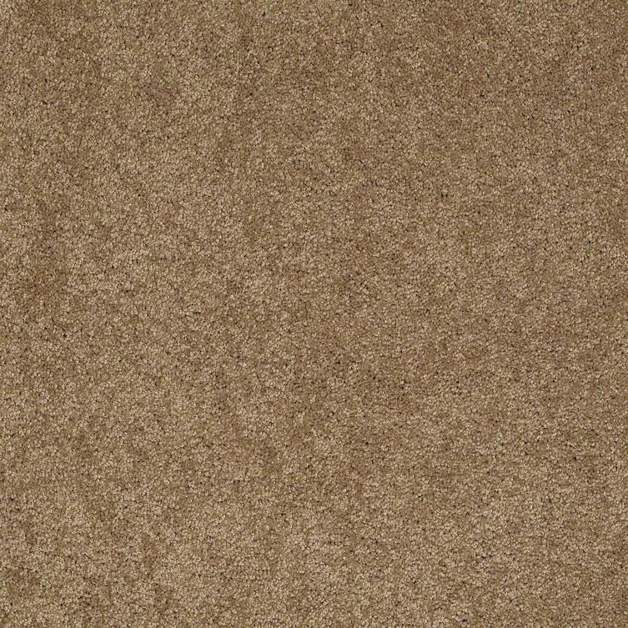 STAINMASTER Active Family Supreme Delight 1 12-ft W x Cut-to-Length Cedar Chest Textured Interior Carpet