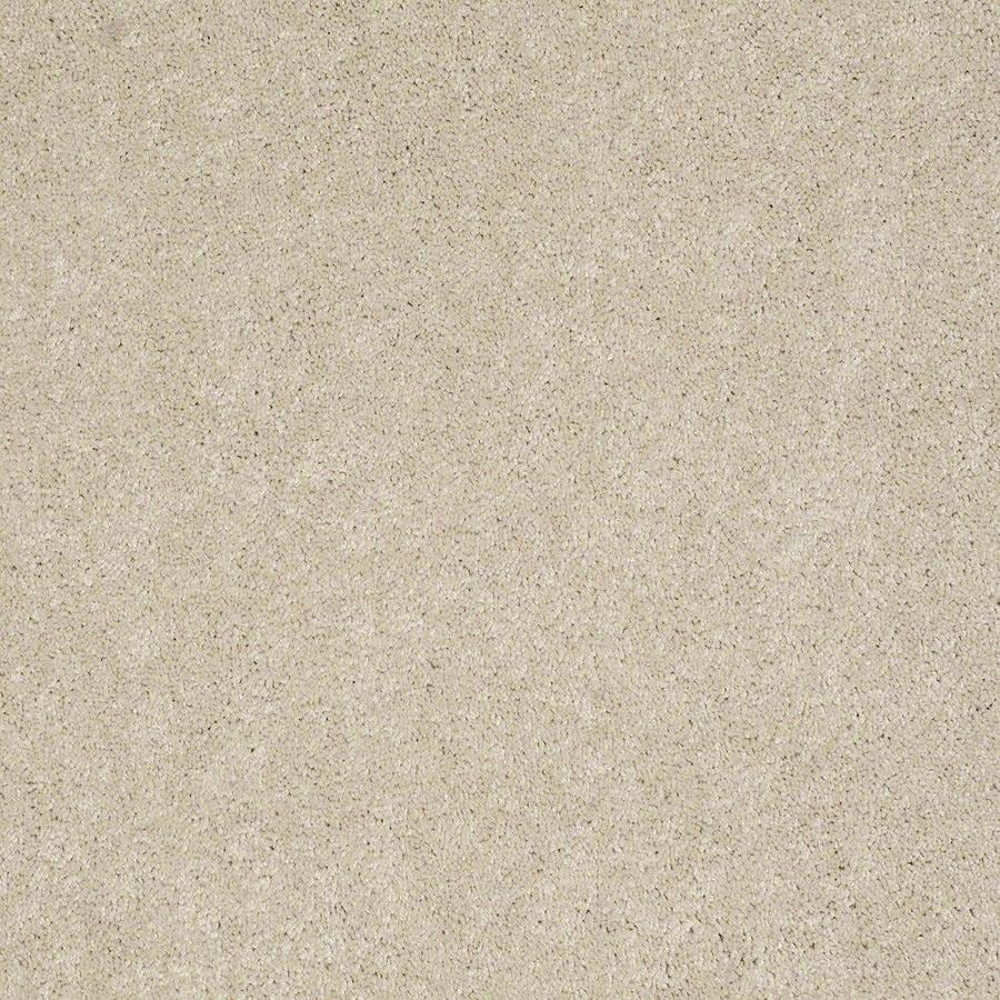 STAINMASTER Active Family Supreme Delight 12-ft W x Cut-to-Length Cheesecake Textured Interior Carpet
