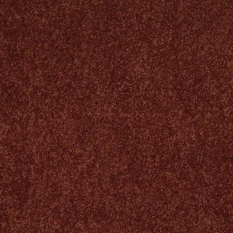 STAINMASTER Active Family Supreme Delight Chili Textured Indoor Carpet