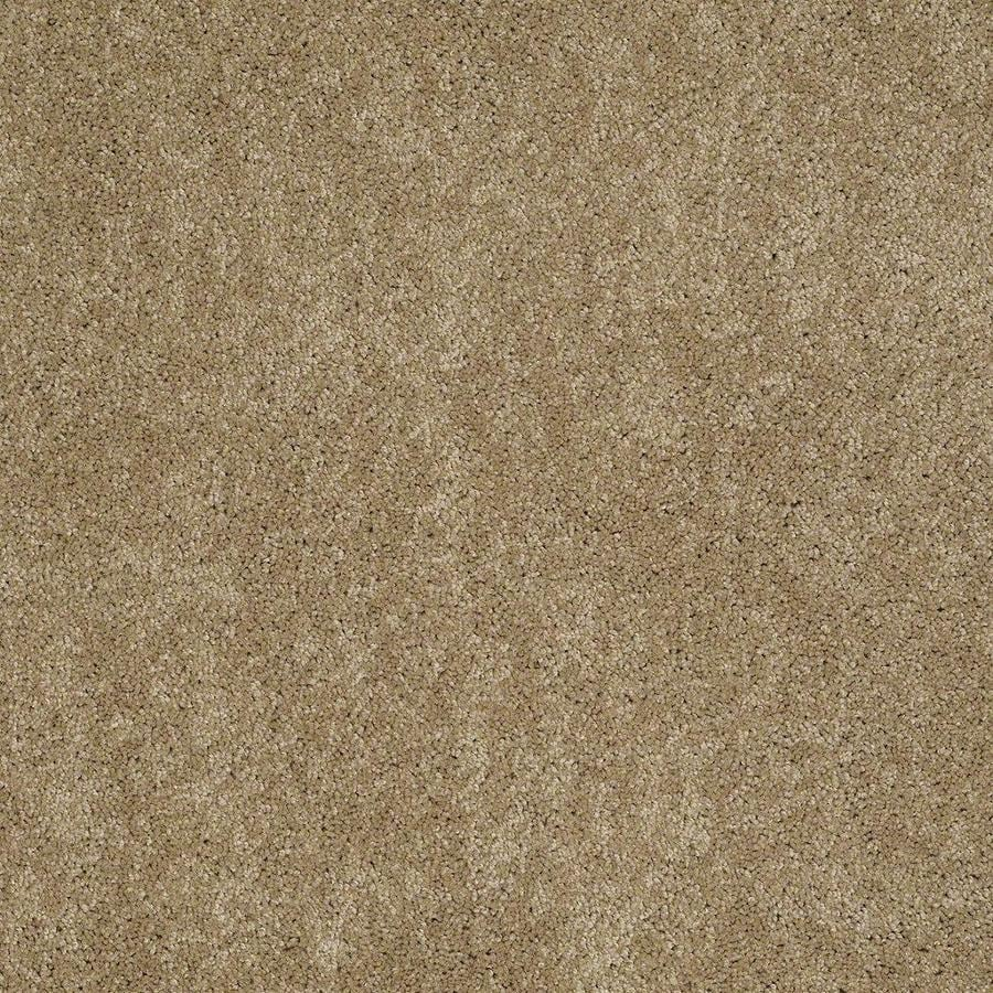 STAINMASTER Active Family Supreme Delight 2 12-ft W x Cut-to-Length Peanut Butter Textured Interior Carpet
