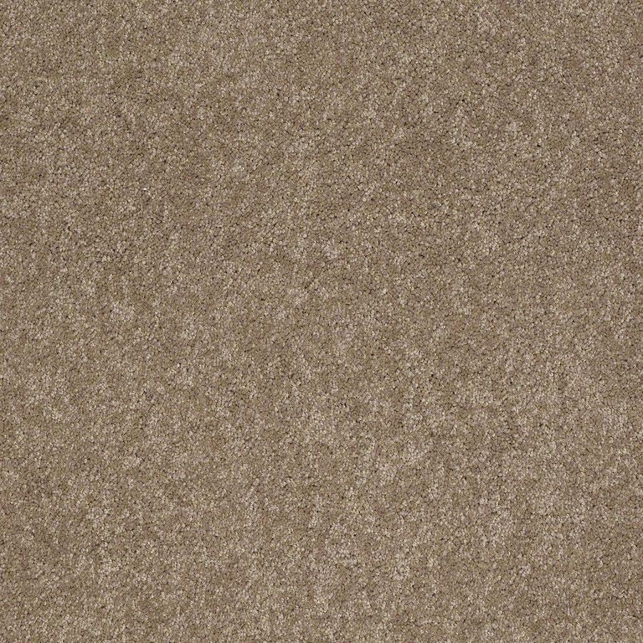 STAINMASTER Active Family Supreme Delight 3 12-ft W x Cut-to-Length Hazelnut Textured Interior Carpet