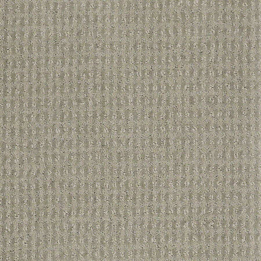 STAINMASTER Active Family St John 12-ft W x Cut-to-Length Moonstruck Berber/Loop Interior Carpet