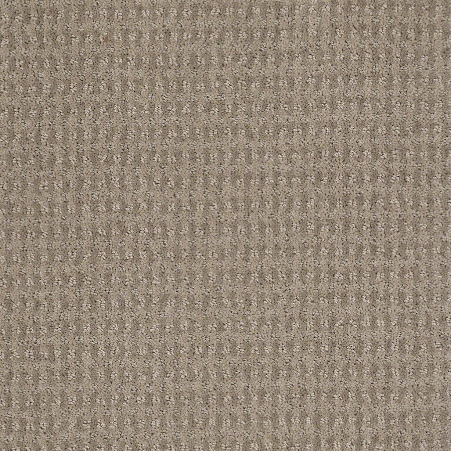 STAINMASTER Active Family St John 12-ft W x Cut-to-Length Cubist Gray Berber/Loop Interior Carpet