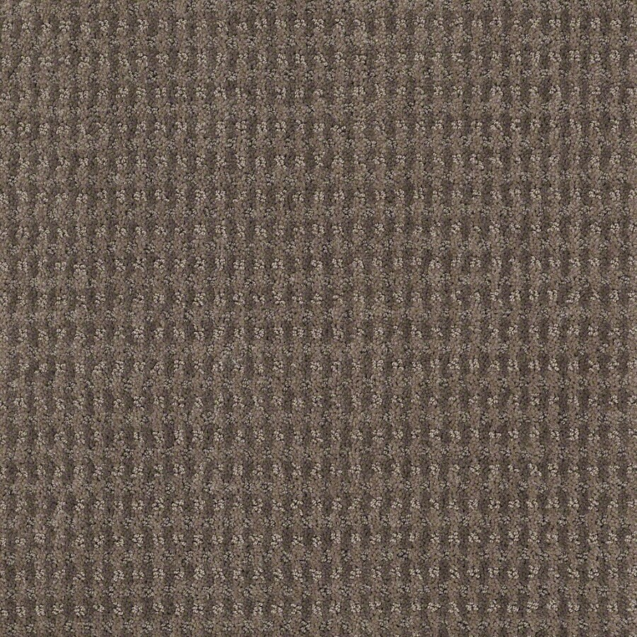 STAINMASTER Active Family St John 12-ft W Glacial Rock Berber/Loop Interior Carpet