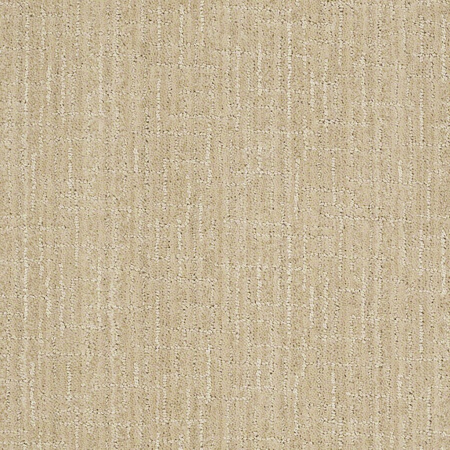 STAINMASTER Active Family Unquestionable 12-ft W x Cut-to-Length Ivory Oats Berber/Loop Interior Carpet