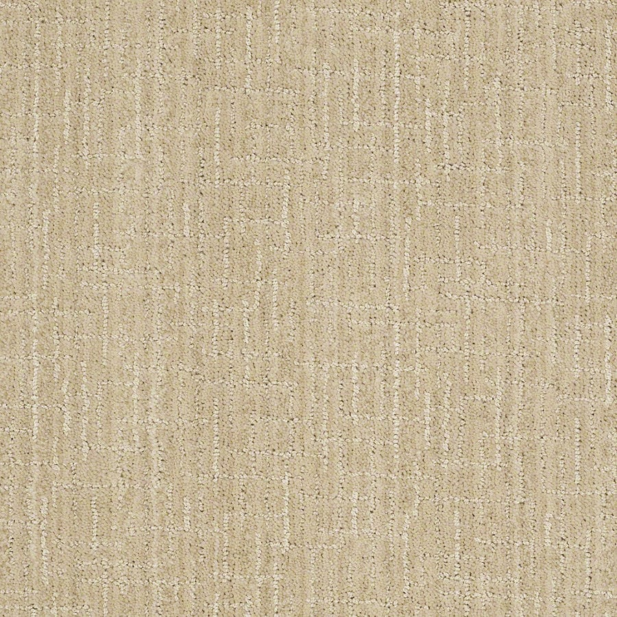 STAINMASTER Active Family Unquestionable Ivory Oats Berber Indoor Carpet
