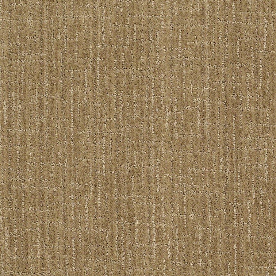 STAINMASTER Active Family Unquestionable Vintage Gold Berber Indoor Carpet