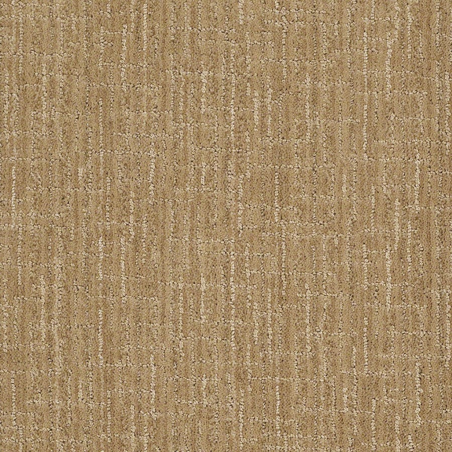 STAINMASTER Active Family Unquestionable 12-ft W x Cut-to-Length Biscuit Berber/Loop Interior Carpet
