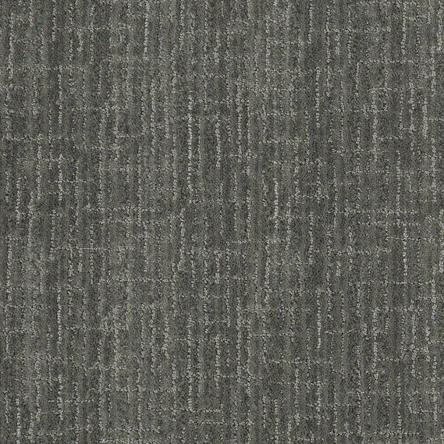 STAINMASTER Active Family Unquestionable Blue Agave Berber/Loop Interior Carpet