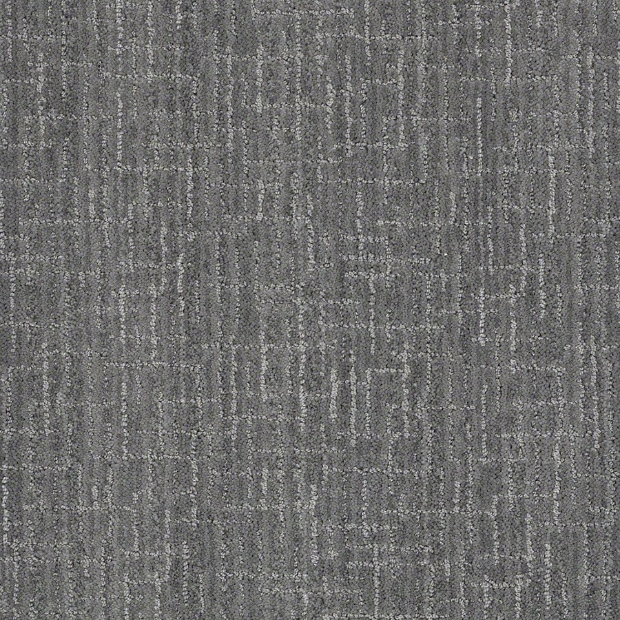 STAINMASTER Active Family Unquestionable 12-ft W x Cut-to-Length Skyline Steel Berber/Loop Interior Carpet