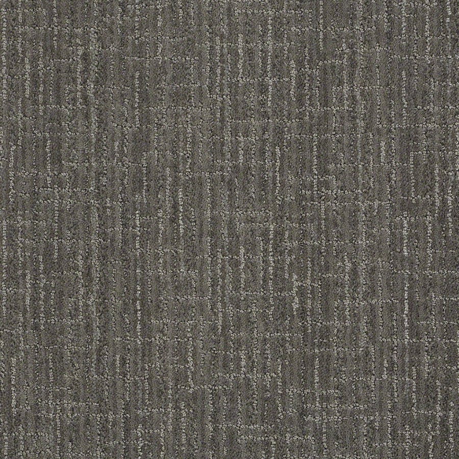 STAINMASTER Active Family Unquestionable Power Gray Berber/Loop Interior Carpet
