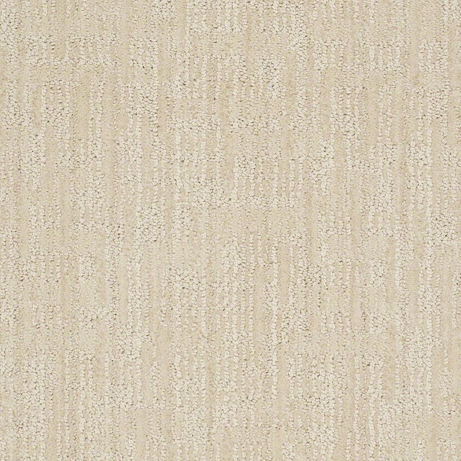 STAINMASTER Active Family Unmistakable Cameo Berber/Loop Interior Carpet