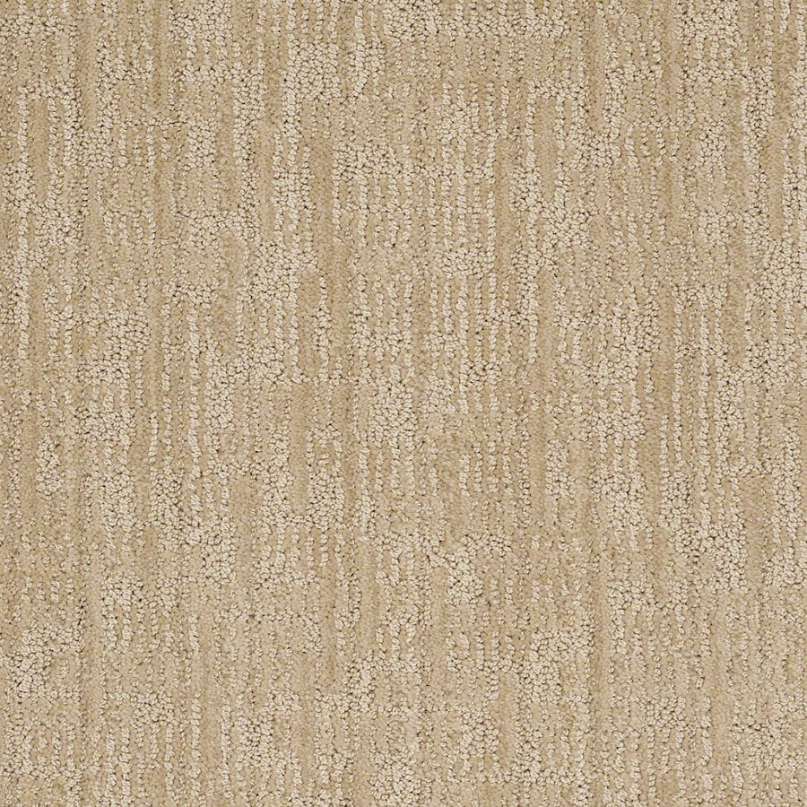 STAINMASTER Active Family Unmistakable Cashmere Sweatr Berber/Loop Interior Carpet