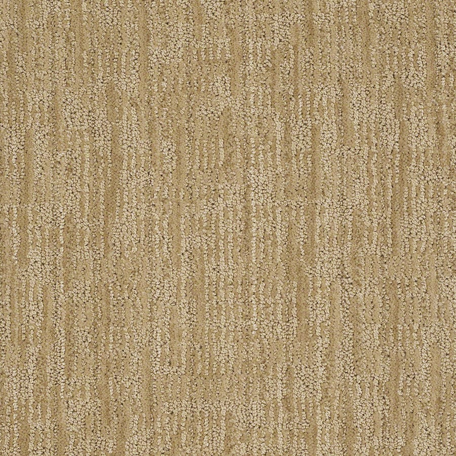 STAINMASTER Active Family Unmistakable Banana Split Berber/Loop Interior Carpet