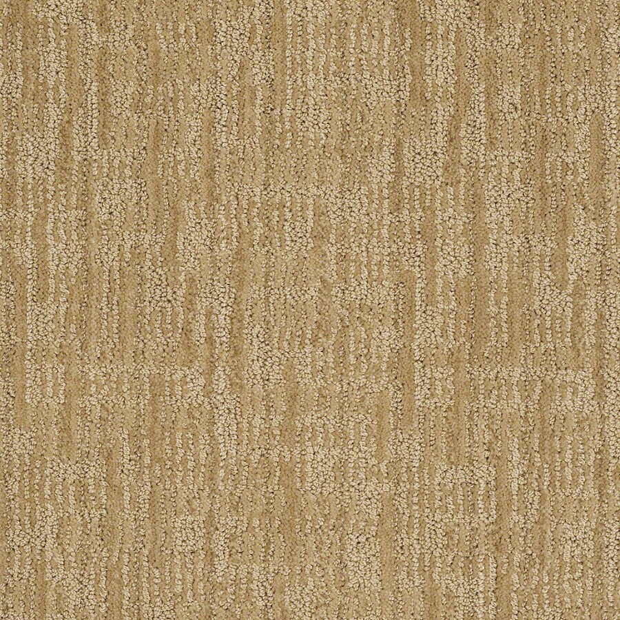 STAINMASTER Active Family Unmistakable Eggnog Berber Indoor Carpet