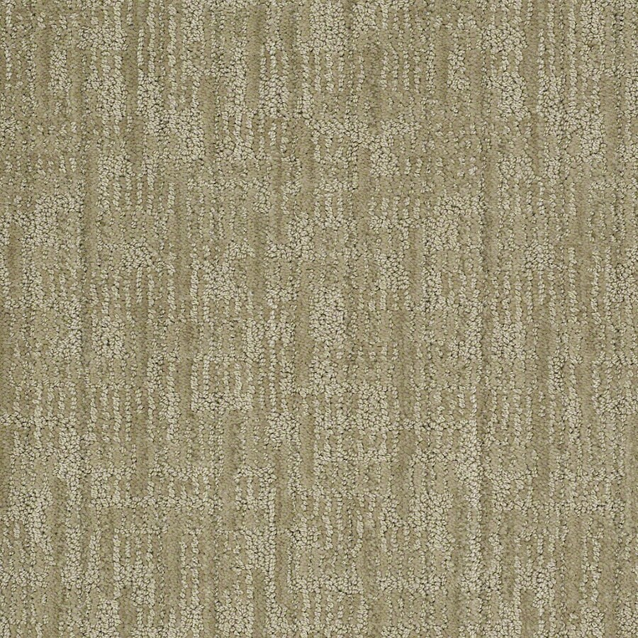 STAINMASTER Active Family Unmistakable 12-ft W Fresh Honeydew Berber/Loop Interior Carpet