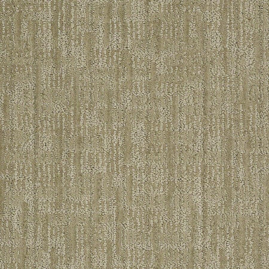 STAINMASTER Active Family Unmistakable Fresh Honeydew Berber/Loop Interior Carpet