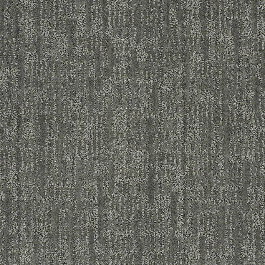 STAINMASTER Active Family Unmistakable Blue Agave Berber/Loop Interior Carpet