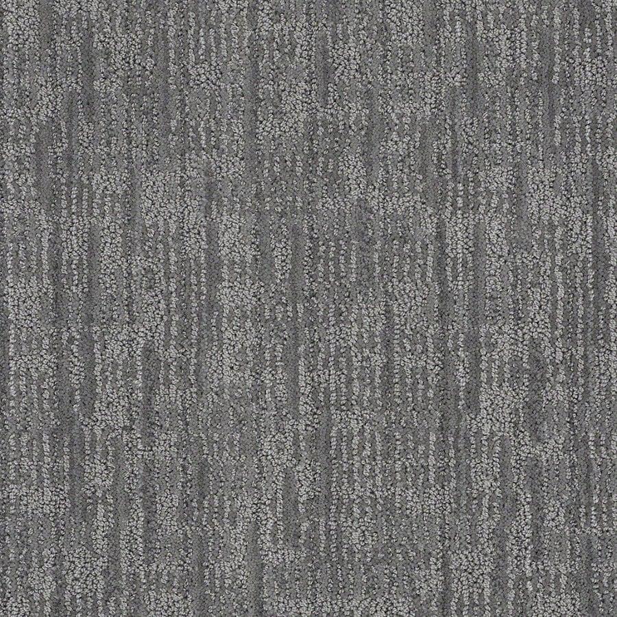 STAINMASTER Active Family Unmistakable Skyline Steel Berber Indoor Carpet