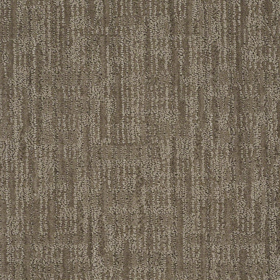 STAINMASTER Active Family Unmistakable 12-ft W Dolphin Berber/Loop Interior Carpet