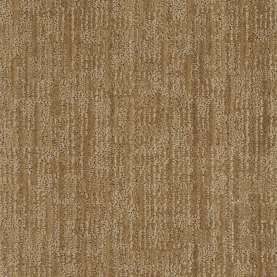 STAINMASTER Active Family Unmistakable 12-ft W x Cut-to-Length French Horn Berber/Loop Interior Carpet