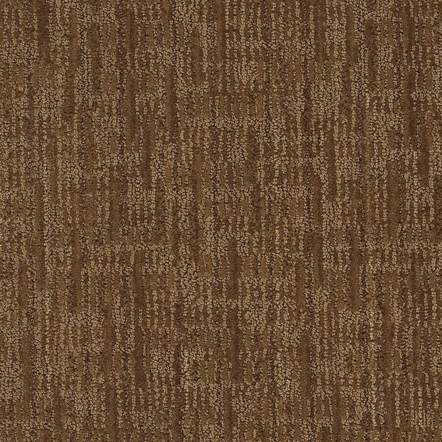 STAINMASTER Active Family Unmistakable 12-ft W x Cut-to-Length Almond Crunch Berber/Loop Interior Carpet