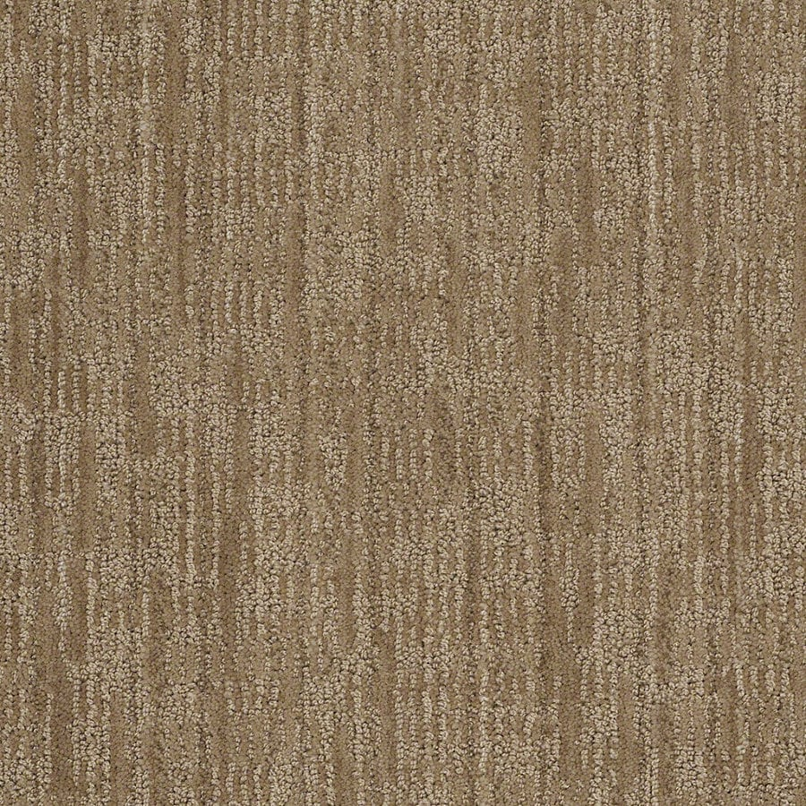 STAINMASTER Active Family Unmistakable 12-ft W x Cut-to-Length Urban Putty Berber/Loop Interior Carpet