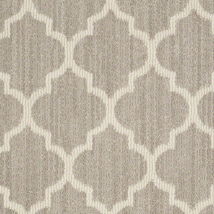 STAINMASTER Active Family Rave Review Plaza Taupe Berber Indoor Carpet