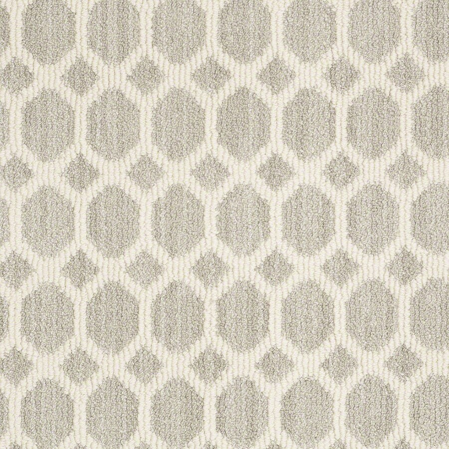 STAINMASTER Active Family All The Rage Misty Dawn Berber/Loop Interior Carpet