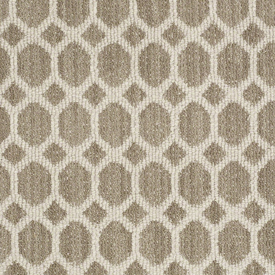 STAINMASTER Active Family All The Rage Cliff Edge Berber/Loop Interior Carpet