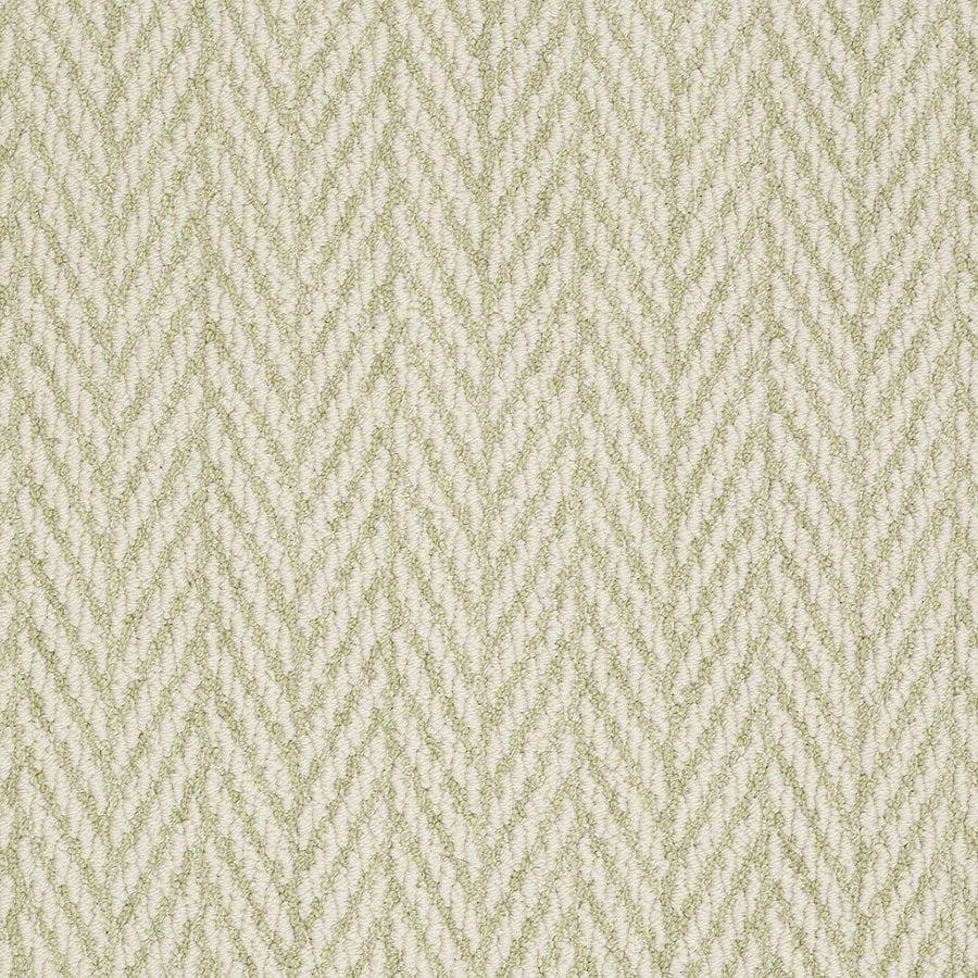 STAINMASTER Active Family Apparent Beauty 12-ft W x Cut-to-Length Glen Green Berber/Loop Interior Carpet