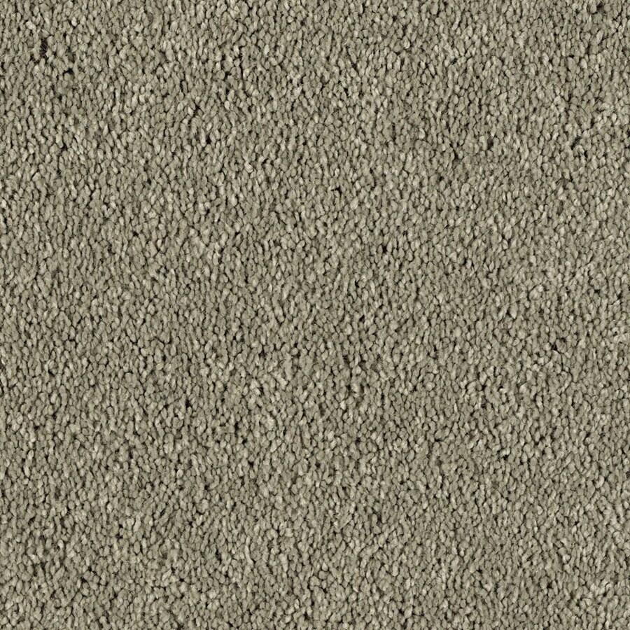 STAINMASTER Essentials Soft & Cozy 3 Taupe Stone Textured Interior Carpet