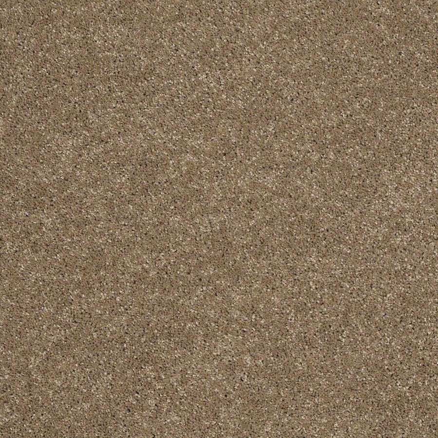 STAINMASTER Trusoft Luscious Iv (S) Cobblestone Textured Interior Carpet